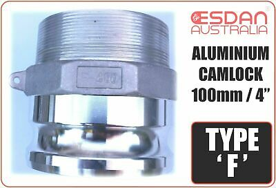 Camlock fitting Type F Groove Coupling 75mm 3 inch Pump Joiner Aluminium Hose