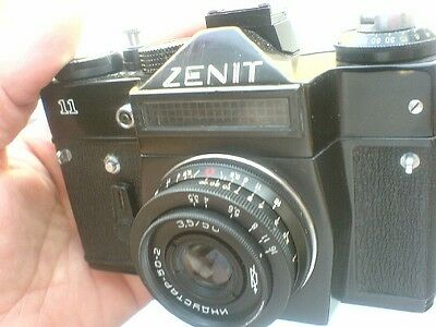 ZENIT-11 USSR  Russian 35mm SLR Camera / Industar-50-2 Lens