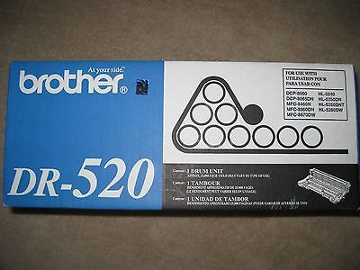 Brand New Genuine Brother DR-520 DR520 OEM Drum MFC-8660DN Sealed in Box