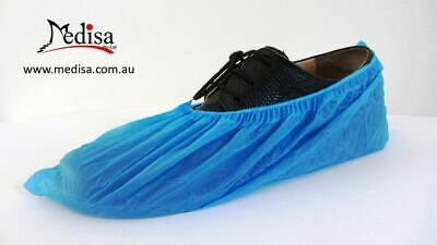 Disposable Waterproof Plastic Shoe Covers Overshoes Pkt of 100 PC Buy2Get1Free