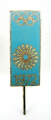 Rare Official Olympic Pin Badge Olympiad Olympic Games Munich 1972