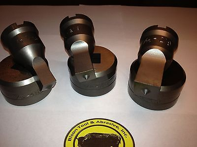 """(6) sets of Square Tools for Edwards /CST Ironworkers- 3/8"""" - 11/16"""""""