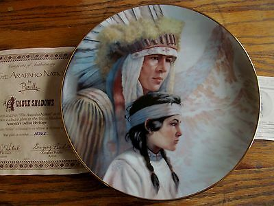 America's Indian Heritage Collection Plate ~ Perillo ~ The Arapaho Nation