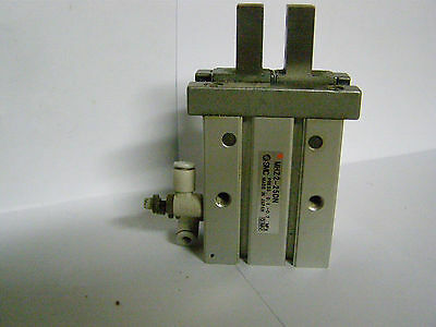 Used Smc # Mhz2-25Dn  Parallel Gripper