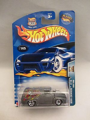 Hot Wheels  2003-145  Work Crewsers  1956 Ford  1:64 scale  NOC (11) 57117
