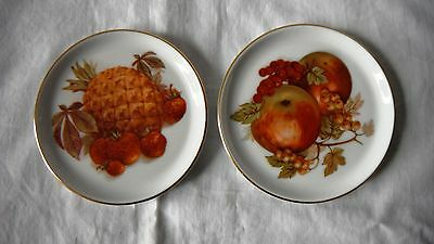 A Pair of Furstenberg coaster / butter pin dish made in Germany