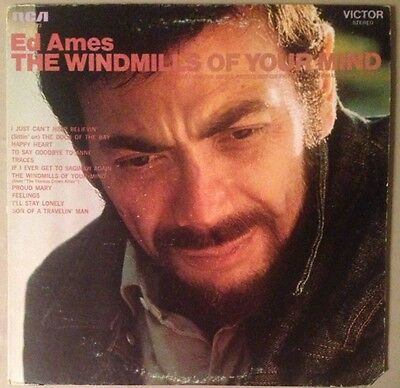 Ed Ames - The Windmills Of Your Mind - VG Vinyl LP