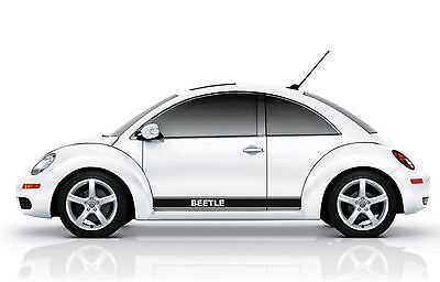 Fits VW Beetle Side Stripes Graphics Decals Stickers any colour