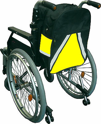 Visibag Wheelchair Bag - Wheelchair Storage Bag - Also Fits Mobility Scooters.