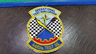 4485th Test SQ Patch