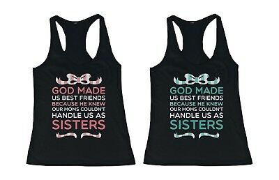 Cute Best Friend Shirts God Made Us Best Friends Bff Quote T