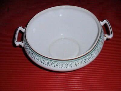 BEAUTIFUL OLD PORCELAIN LIMOGES TURAIN OR CASSEROLE BOTTOM