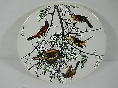 Vintage H & R JOHNSON LTD Ceramic Trivet Birds Made In  England Collectible