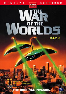 The War of the Worlds / Byron Haskin, Gene Barry (1953) - DVD new