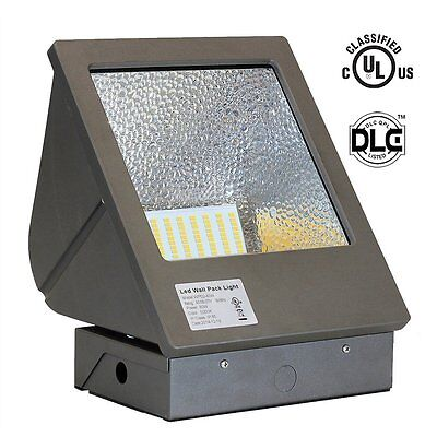 LED Wall Pack Light Fixture 40/60/80/150W energy efficient Building Outdoor Lamp