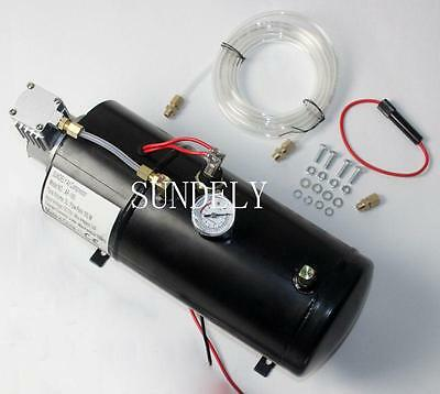 SUNDELY Air Compressor for Train Horn 12 Volt 150 PSI w/ Auto Pressure Switch