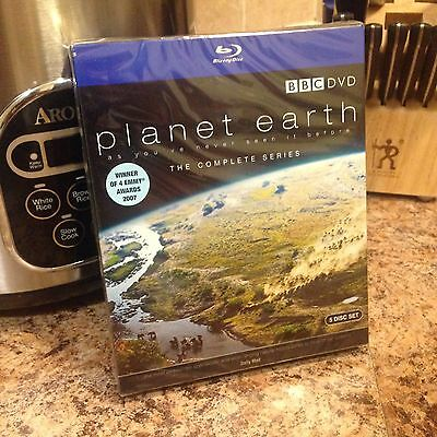Planet Earth The Complete Series 5 Disc Blu-ray Collection by David Attenborough