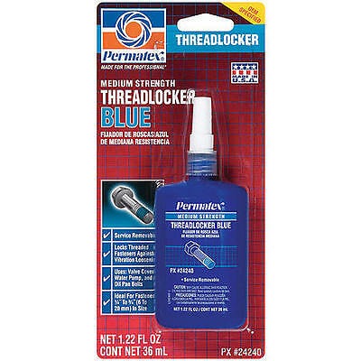 Permatex Medium Strength Threadlocker Blue - 36 mL bottle 24240