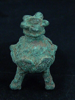Ancient Bactrian Bronze Khol C.300 BC