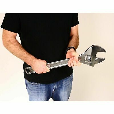 """24"""" Drop Forged Steel Adjustable Wrench Extra Large Wrench"""