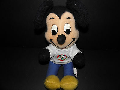 Mickey Mouse Vintage Early 1960's Mickey Mouse Club Stuffed Toy