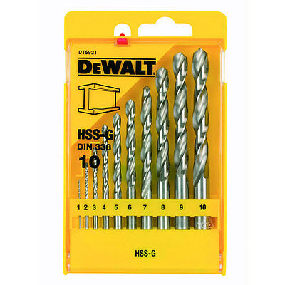 DeWalt DT5921QZ Metal Drill Bit Set 9 Piece