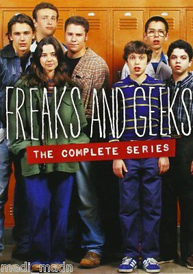 Freaks and Geeks The Complete Series (DVD, 6-Disc Set) NEW