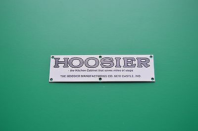 Label Hoosier Sellers Boone McDougal Wilson Name Plate Label For Bakers Cabinets