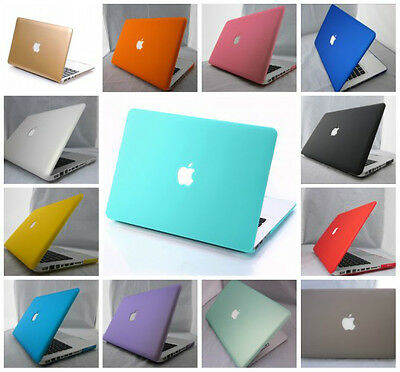 """Rubberized Hard Case Laptop Cover for Apple Macbook AIR 11 13 """"Pro 13 15""""inch"""