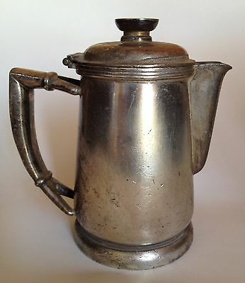 Vintage F.B. Rogers Hilton small pewter pitcher