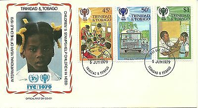 5/6/1979 Trinidad & Tobago FDC - International Year of the Child 1979 #1