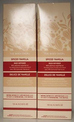The Body Shop SPICED VANILLA REED DIFFUSER x2