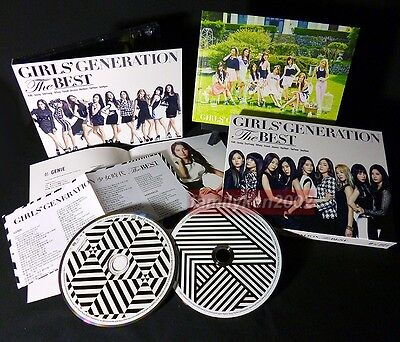 Limited Edition! Photobook+CD+DVD NEW SNSD GIRLS' GENERATION 2014 Best kpop jpop