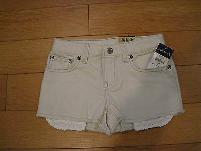 Nwt Girl's Polo Ralph Lauren Jean Shorts (Retail $29.50)