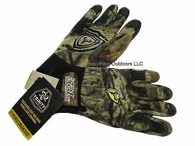 ScentBlocker Mens Pro Grip ProGrip Glove with TRINITY Mossy Oak Camo Size XL/2XL