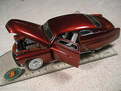 Superior Die Cast Model, 1949 Ford Mercury, 1:28 Scale, Candy Apple Red