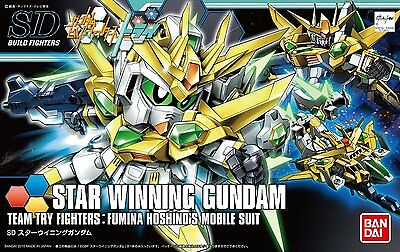 New Bandai HG Build Fighters 030 STAR WINNING GUNDAM 1/144 scale Kit Japan
