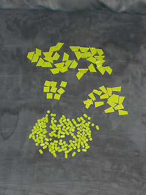 LOT OF 200 LIME GREEN LEGO PARTS & PIECES * BRAND NEW PIECES * STUDS MINI BARREL