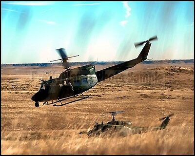 USAF UH-1 Huey 37th Helicopter Squadron Warren AFB, Wyoming 2014 8x10 Photos