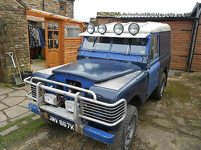 LAND ROVER SERIES 2A PROJECT TAX EXEMPT