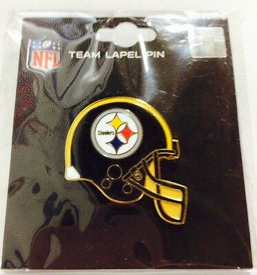 OFFICIAL NFL LICENSED LAPEL PIN  TEAM LOGO ***Pittsburgh Steelers***
