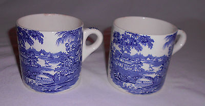 """ROYAL  STAFFORDSHIRE  """"TONQUIN""""  COFFEE  CUPS"""