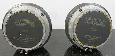 VINTAGE ALTEC LANSING 288-8K HF HORN DRIVERS PAIR NEAR PERFECT MATCHED DCR'S