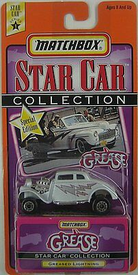MATCHBOX STAR CAR COLLECTION - GREASE - GREASED LIGHTNING