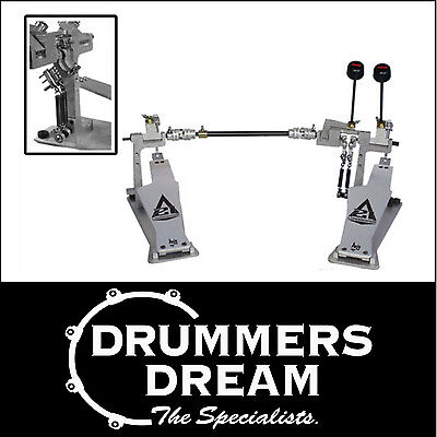 Axis AX-LB-A21-2MST A21 Series Longboard Double Bass Drum Pedal with Microtune!