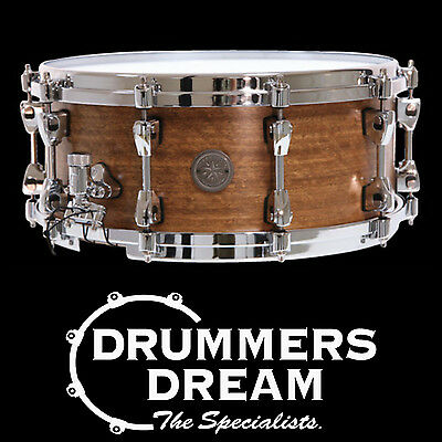 "Tama Starphonic 14x6""  Spotted Gum Snare Drum - Australian Wood Limited edition"