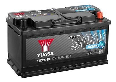 YBX9019 Yuasa Car / Van Battery 12V 95Ah - UK Yuasa Distributor - AGM Start Stop