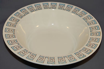 Taylor Smith & Taylor Taylorstone Forum Serving Bowl Blue and White 9 1/2 inch