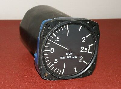 Military Aircraft Variometre BADIN CROUZET 2500FT/MN Aircraft Indicator