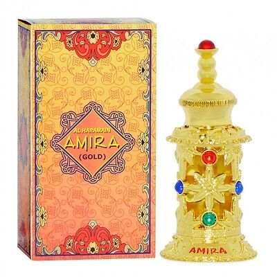 Amira Gold Exotic Oriental Sweet Floral Perfume oil/Atar by Al Haramain 12ml